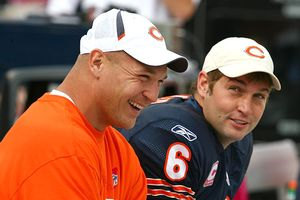 Brian Urlacher and Jay Cutler