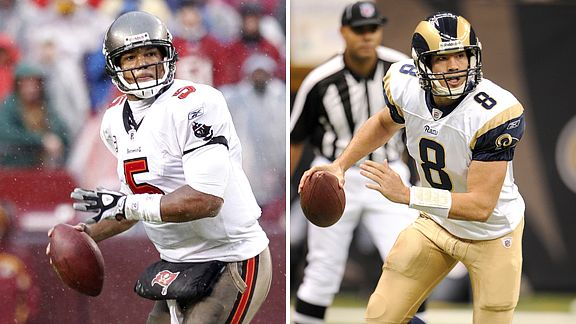 Josh Freeman and Sam Bradford