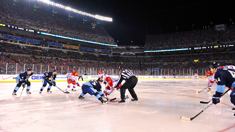 Winter Classic Face-off