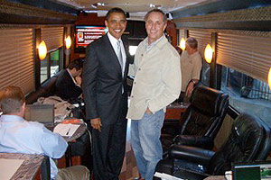 Rick Reilly and President Obama