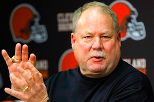 Cleveland Browns president Mike Holmgren