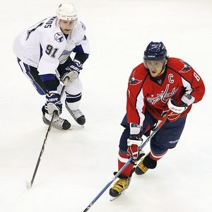 Steven Stamkos and Alex Ovechkin
