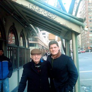 Tedy Bruschi and his Uncle Mario