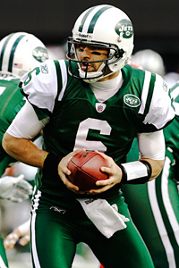 New York Jets' Mark Sanchez