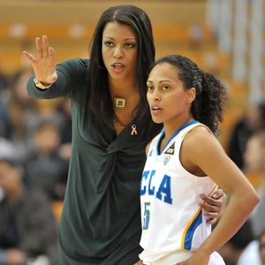 UCLA Bruins women's basketball coach Nikki Caldwell ...