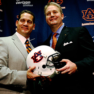 Auburn's Jay Jacobs and Gene Chizik