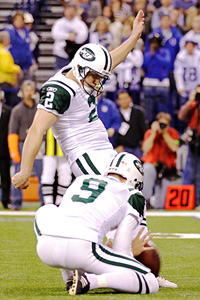 New York Jets place kicker Nick Folk