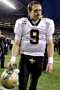 Saints' Drew Brees