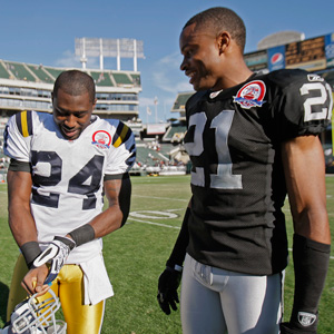 Darrelle Revis and Nnamdi Asomugha