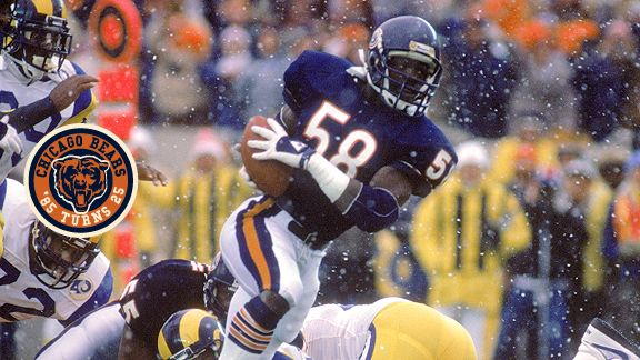 The lasting memory of Wilber Marshall's stint with the Bears was his fumble return against the Rams.