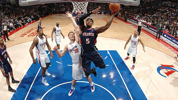 Josh Smith and Blake Griffin