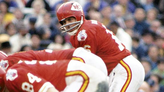 Len Dawson came closest to representing the Chiefs on an all-time Super Bowl list, and the team's footprint on the game is beginning to fade.