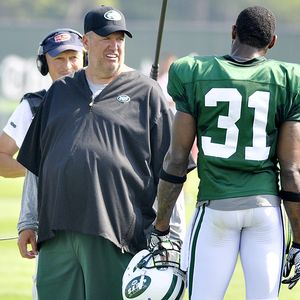 Rex Ryan and Antonio Cromartie