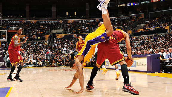Cavs/Lakers