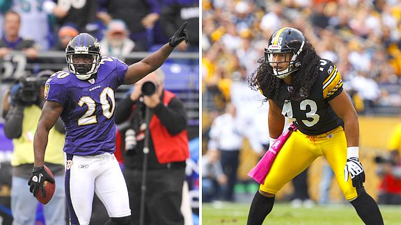 Ed Reed and Troy Polamalu
