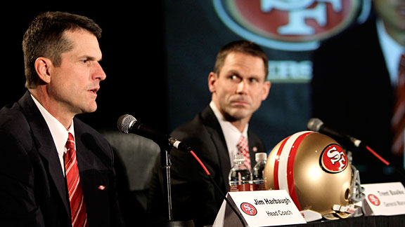 Jim Harbaugh & Trent Baalke