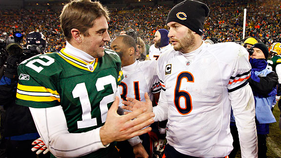 Rodgers/Cutler