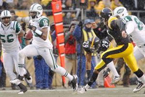AP Photo/Keith Srakocic Brad Smith's 97-yard kick return for a