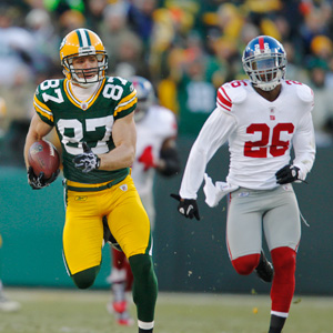 Jordy Nelson and Antrel Rolle