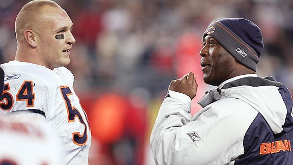 Brian Urlacher and Lovie Smith