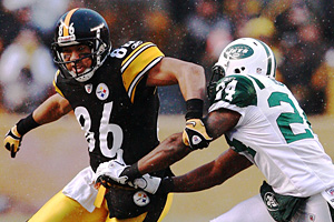 Hines Ward and Darrelle Revis
