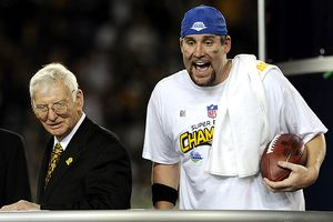 Ben Roethlisberger and Dan Rooney