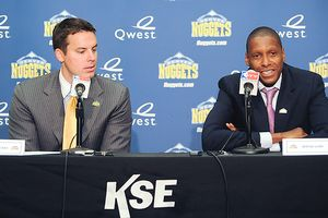 Josh Kroenke and Masai Ujiri