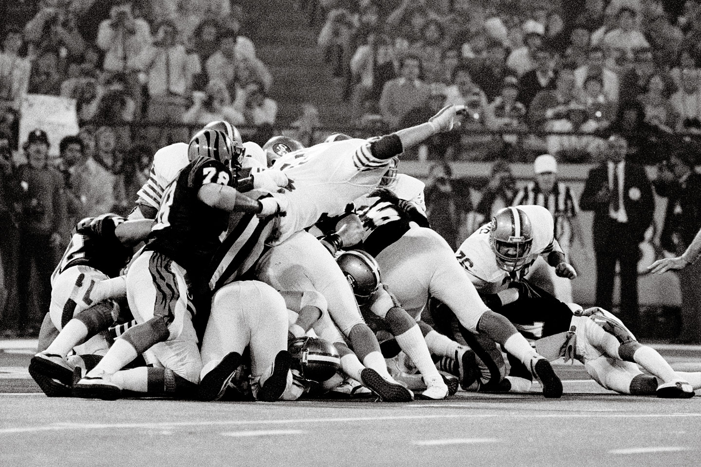 49ers Goal Line Stand Super Bowl XVI Greatest Super