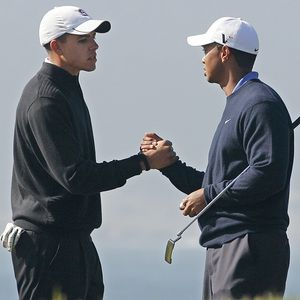 Joseph Bramlett and Tiger Woods