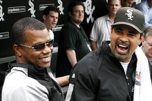 Kenny Williams and Ozzie Guillen