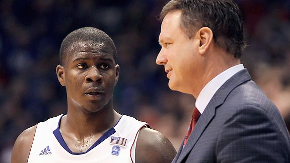 Josh Selby and Bill Self
