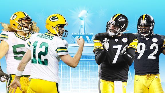 steelers vs packers