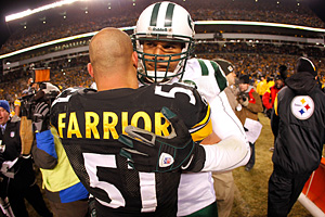 Jason Taylor and James Farrior