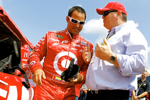 Chip Ganassi & Juan Pable Montoya