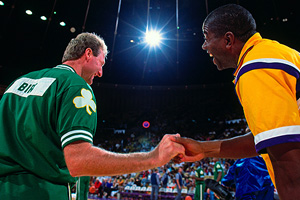 Larry Bird & Magic Johnson