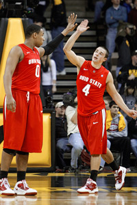 Jared Sullinger and Aaron Craft