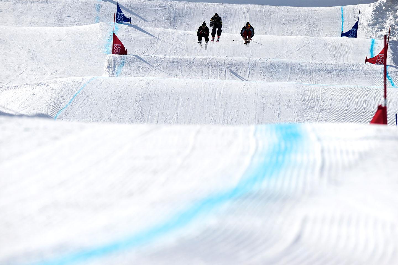 Skier X