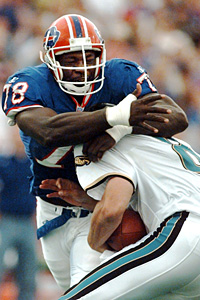 Buffalo Bills defensive end Bruce Smith