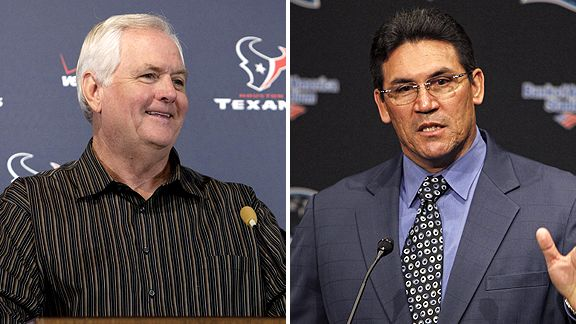 Wade Phillips and Ron Rivera