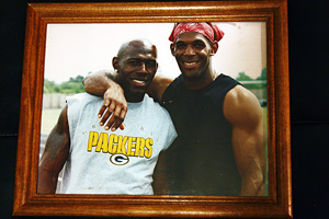Donald Driver and Marvin Driver III
