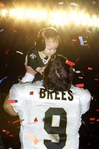 Super Bowl XLIV, Drew Brees