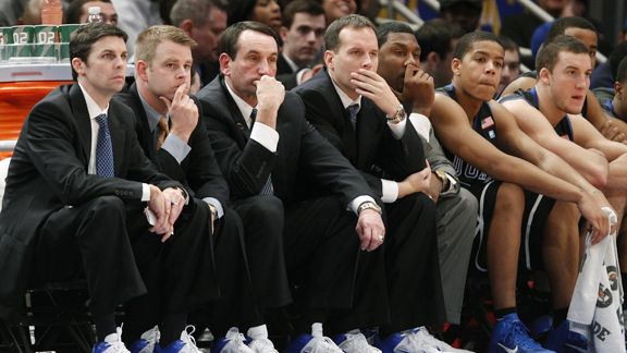 Duke Coaches