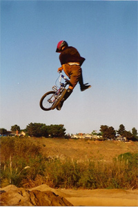 Can can x-up from The Wildman during the mid '90s Haro days at Sheep Hills.
