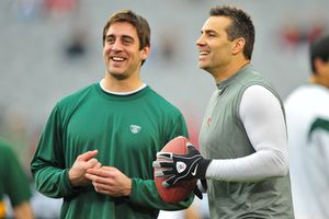Aaron Rodgers, Kurt Warner