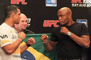 Vitor Belfort & Anderson Silva