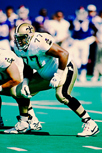 New Orleans Saints tackle Willie Roaf