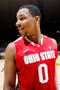 Ohio State freshman JARED SULLINGER has a strong family tradition ...