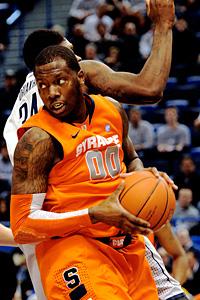 Syracuse's Rick Jackson