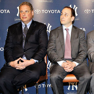Randy Levine and Brian Cashman