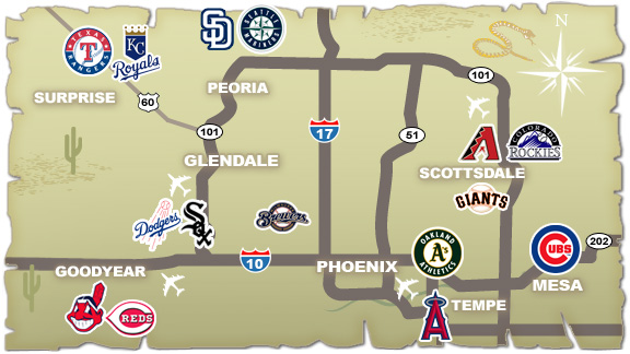Spring Training Guide - Cactus League